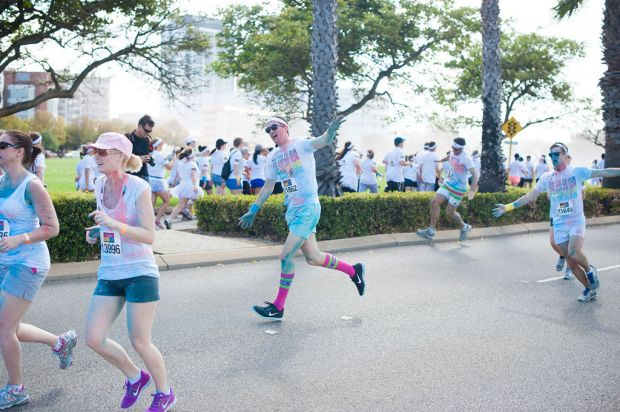The Swisse Color Run.
