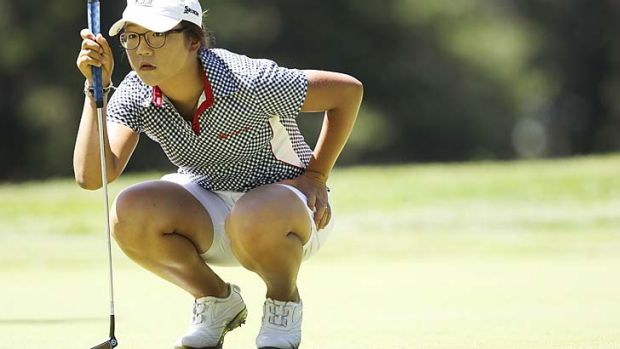 Talented … Lydia Ko has people lost for words.