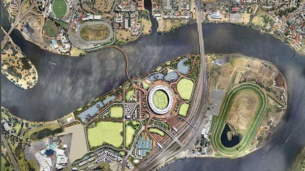 Scitech will be part of the Burswood precinct near the planned new stadium.