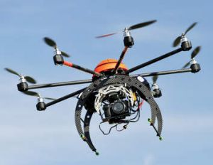 Moving to mainstream ... remote-controlled aerial devices equipped with a camera can cost as little as $350.