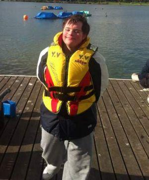 Disabled sailing at Albert Park.