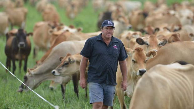 Dairy farmer Brian Wilson is not sure if producers can regain control of their industry.