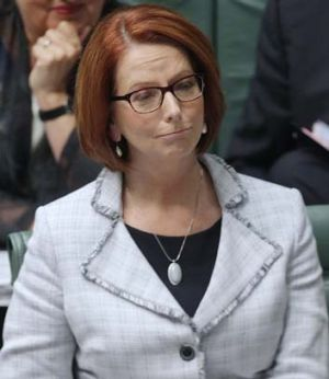Julia Gillard … deserted by voters.
