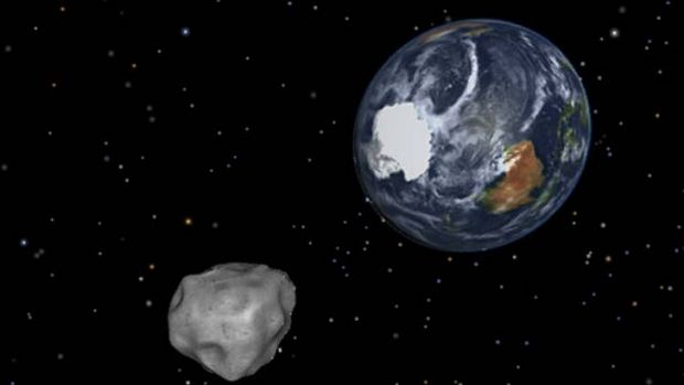 """""""Due to limitations in telescopes and funding, we have mapped less than 1 per cent of metropolitan-threatening asteroids""""."""