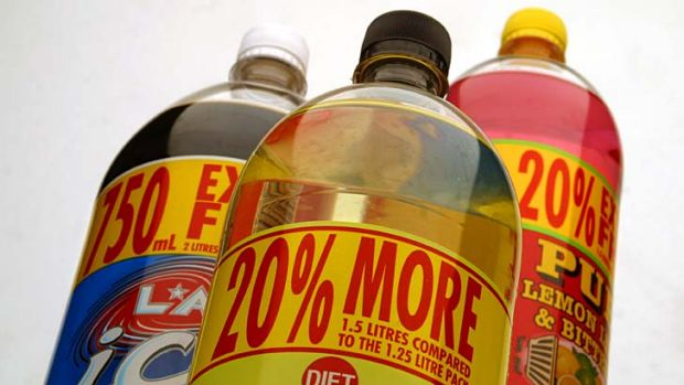 The new guidelines urge people to 'limit' their intake of sweetend soft drinks and lollies.