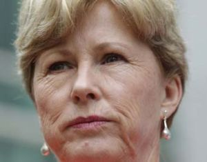Deal's off … Christine Milne.