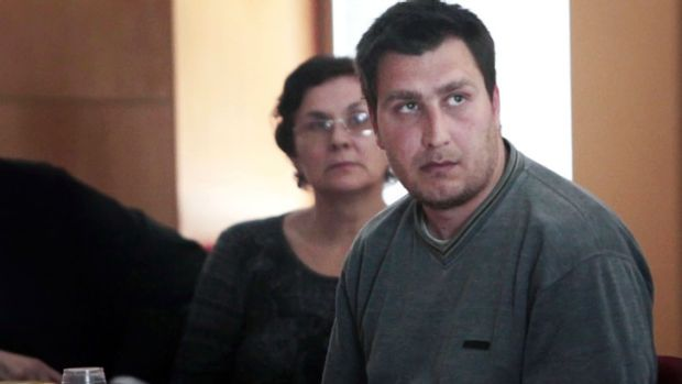 Bulgarian Deyan Valentinov Deyanov, who is accused of decapitating a British woman at a shop on the Spanish holiday ...