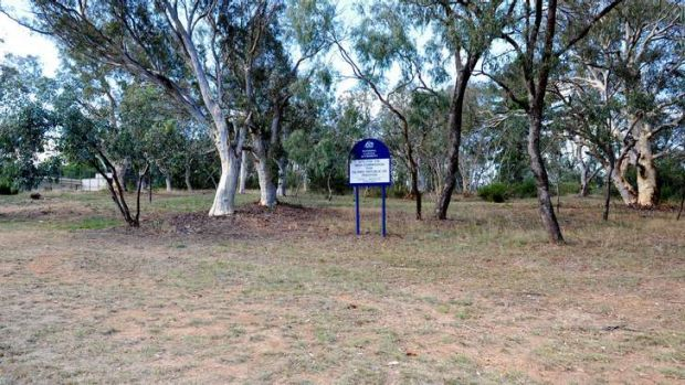 Vacant block of land reserved for the Republic of Pakistan off Perth Avenue.