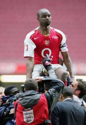 The man Arsenal never replaced ... Patrick Viera.