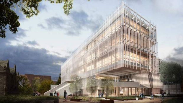 An artists' impression of the University of Melbourne's $100 million Faculty of Architecture.