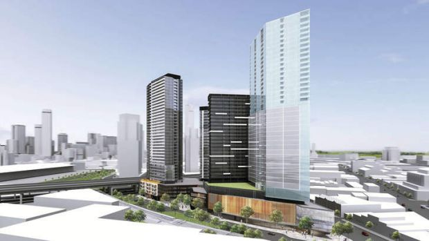 An artist's impression of DEC's site at 400 City Road.