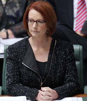 Missing all the signals ... Julia Gillard.
