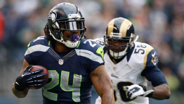 Inspiration ... Seattle Seahawks NFL running back Marshawn Lynch refers to himself as going into 'Beast Mode' during games.