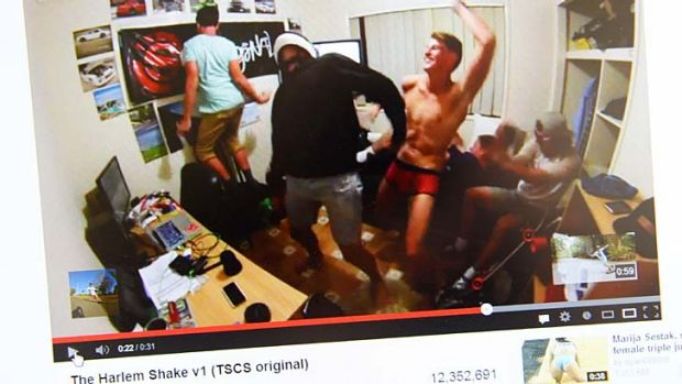 Viral ... the Harlem Shake.