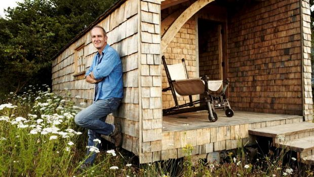 Kevin McCloud is proud of his woodland cabin, a testament to construction and sustainability in an age of pre-packaged ...