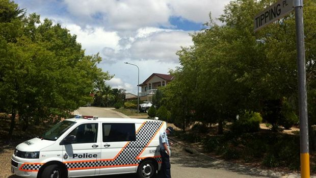 Police have cordoned off Tipping Place as officers investigate a shooting.