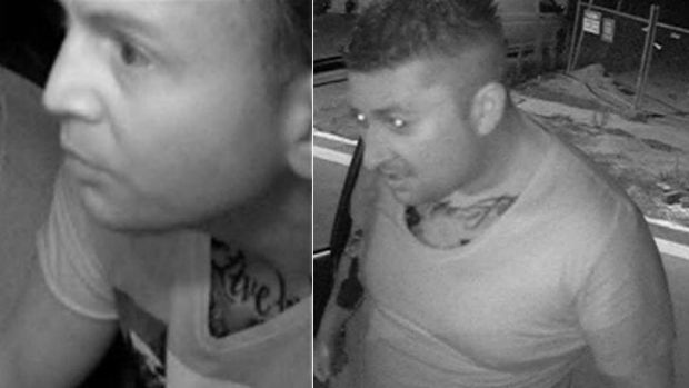 Police have released these images of the men believed to be responsible for an alleged assault against a taxi driver.