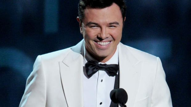 Unpredictable: Seth MacFarlane is set to host the 85th Academy Awards.