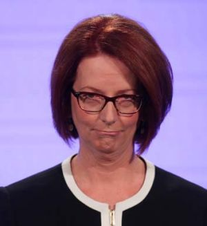 Julia Gillard ... should stay where she is.
