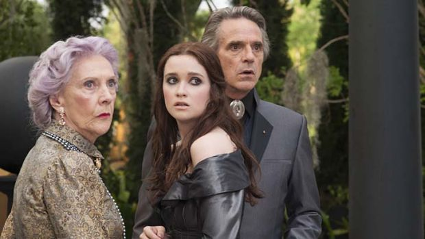Luvvies launch a pantomime … Eileen Atkins, Alice Englert and Jeremy Irons star in a film that tells a tale of ...