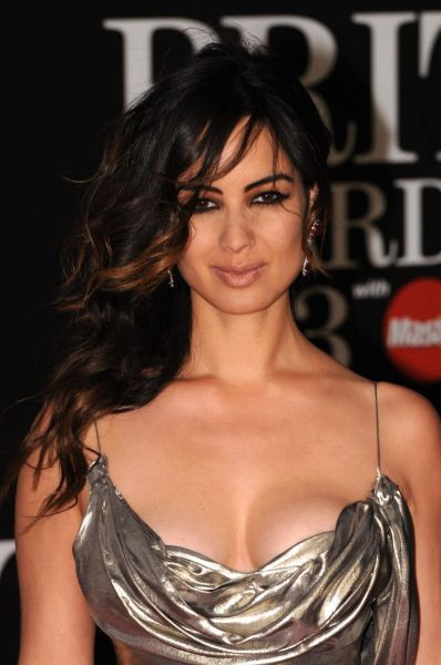 Berenice Marlohe attends the Brit Awards 2013.