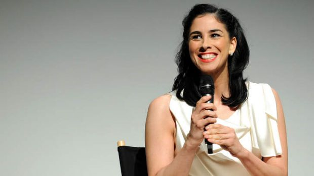 A lifetime of taboos ... Sarah Silverman.