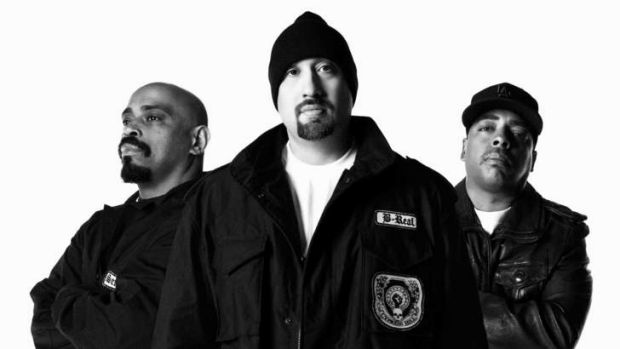 Rappers Cypress Hill find themselves headlining a rock festival once again.
