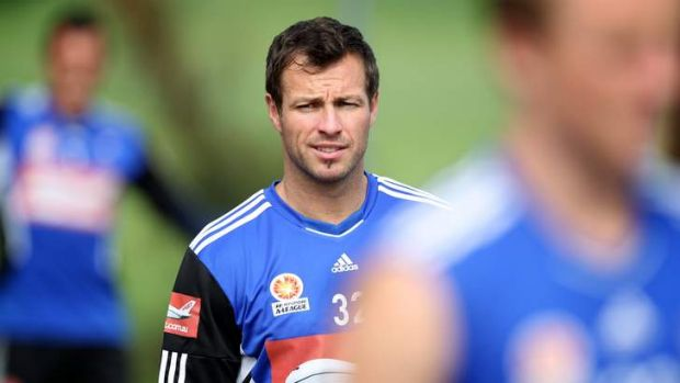 Socceroo captain Lucas Neill, who has signed with Sydney.