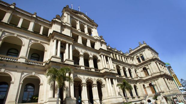 The Treasury Casino and Hotel, Brisbane.