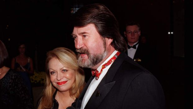 Old friends:  Jacki Weaver and Derryn Hinch.