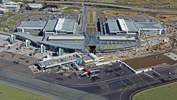 Canberra Airport.