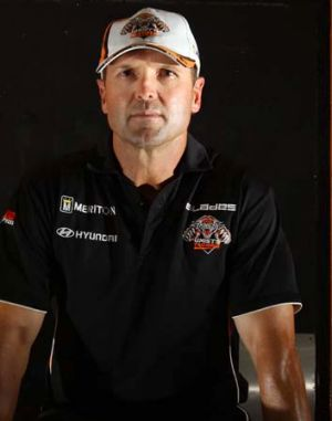 Unassuming ... new Wests Tigers coach Mick Potter.