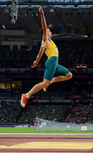 Mitch Watt at the London 2012 Olympic Games.