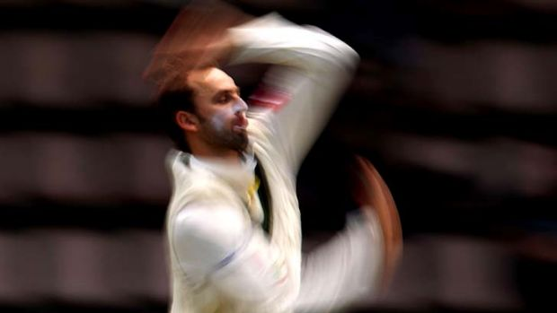 Australia have named Nathan Lyon as the frontline spinner for the First Test against India in Chennai.