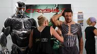 Jarryd Hayne is painted As the character Prophet for EA Australia