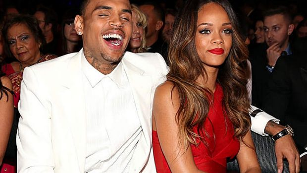 Can we have some Law and Order? Chris Brown and Rihanna announce their couple status at the Grammys (note: some ...
