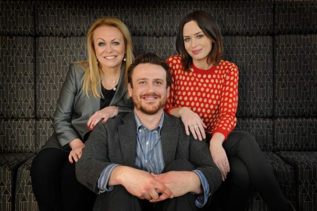 Jacki Weaver, Jason Segel and Emily Blunt are the stars of 'The Five Year Engagement'.2012
