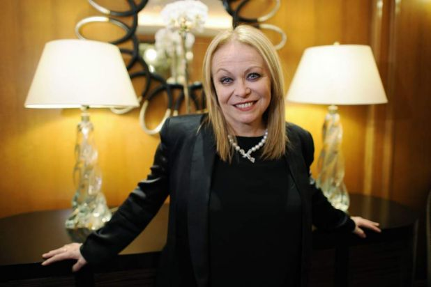 "Australian actress Jacki Weaver, nominated for an Oscar for best supporting actress in her film ""Animal Kingdom"", poses ..."