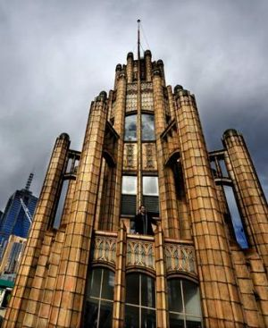The Manchester Unity building.