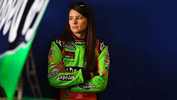 Rookie year … former open-wheeler star Danica Patrick is on pole for Sunday's running of the Daytona 500.