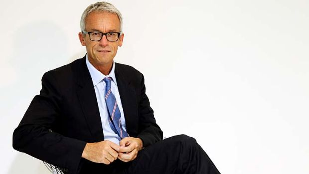 Comfortable position … FFA chief executive David Gallop has settled into his new role.