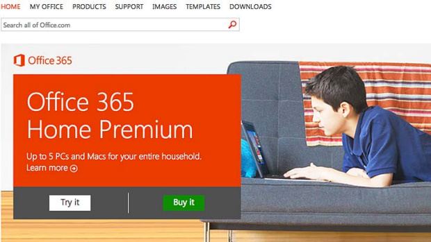 Microsoft Office 365 Home Premium.