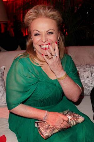Up for an Oscar ... Jacki Weaver at the Golden Globes in January.