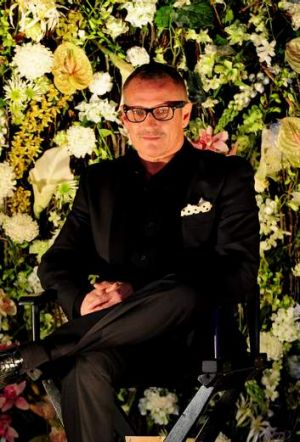 Acclaimed fashion designer, Jayson Brunsdon.