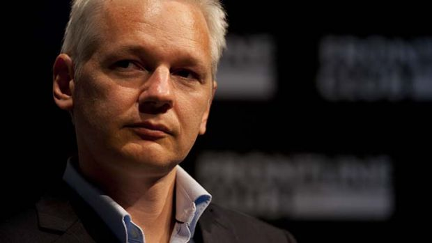 The candidate … Julian Assange.