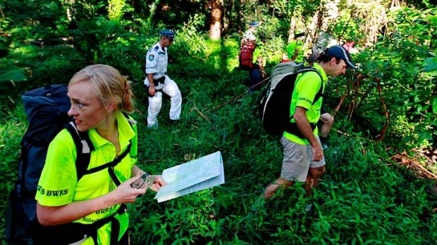 Bush psychologist … Caro Ryan, of the Bushwalkers Wilderness Rescue Squad, says hikers do unusual things when they ...