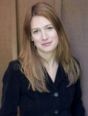 Horror fan ... Gone Girl author Gillian Flynn.