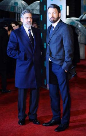 Neat ... George Clooney and Ben Affleck.