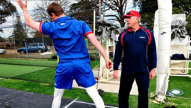 Proven … Craig McDermott admits an ''old-fashioned'' approach to his coaching.