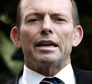 Rebuffed ... Leader of the opposition Tony Abbott.